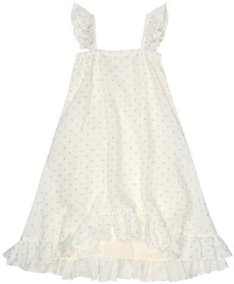 Bonpoint Nymphe polka-dot linen dress