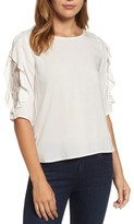 Velvet by Graham & Spencer Women's Lace Inset Blouse