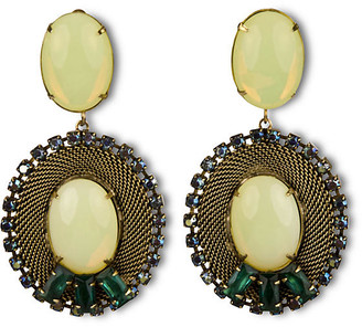 One Kings Lane Lacerta Drop Earrings