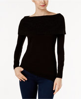 MICHAEL Michael Kors Off-The-Shoulder Sweater