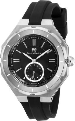 Technomarine Women's Cruise Stainless Steel Quartz Watch with Silicone Strap