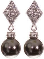 Doris Panos FINE JEWELRY telio! by Silver-Tone Alysee Pearl Drop Earrings