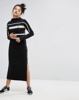 adidas Paris Stripe Midi Dress