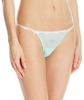 Betsey Johnson Women's Sheer Marq Bridal Bikini