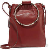 Theory Post Leather Pouch - Claret
