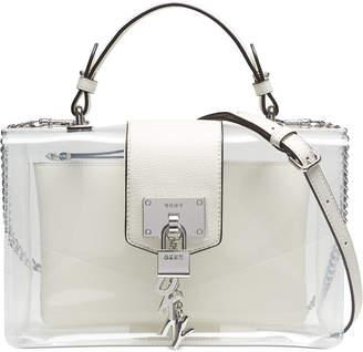 DKNY Elissa Flap Clear Shoulder Bag