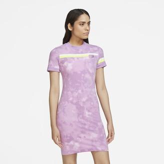 Nike Women's Short-Sleeve Knit Dress Sportswear Essential