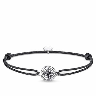 Thomas Sabo unisex-bracelet Little Secret Royalty cross 925 Sterling silver blackened LS087-641-11-L22v