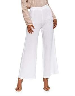 120% Lino 120 Lino Wide Leg Pant