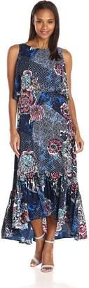 Rafaella Women's Bali Floral Printed Maxi Dress