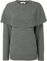 Chloé cape knitted sweater - women - Cashmere - M