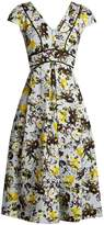 Erdem Fabianna woven-cotton dress