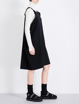 Limi Feu Oversized wool-twill mini dress