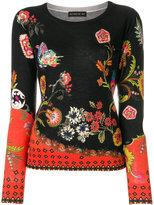 Etro floral print jumper