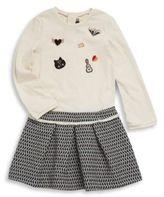 Catimini Toddler's, Little Girl's & Girl's Long-Sleeve Cotton Dress & Skirt