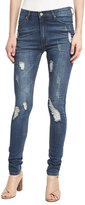 Cheap Monday Second Skin Distressed Skinny Jeans