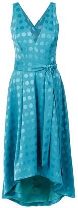 Tufi Duek polka-dot midi dress