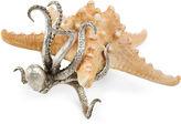 One Kings Lane 9 Ocean Life Figurine, Silver/Tan
