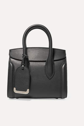 Alexander McQueen Heroine Small Leather Tote - Black
