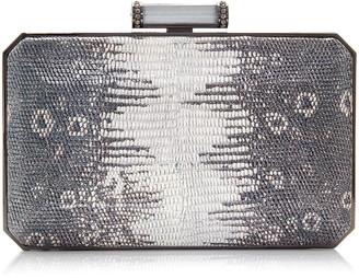 Judith Leiber Couture Soho Mia Leather Clutch Bag
