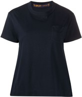 Sacai pleated side panel T-shirt