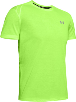 Under Armour Streaker 2.0 Short Sleeve T-Shirt - Lime Light / Reflective
