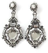 Lanvin embellished clip-on earrings
