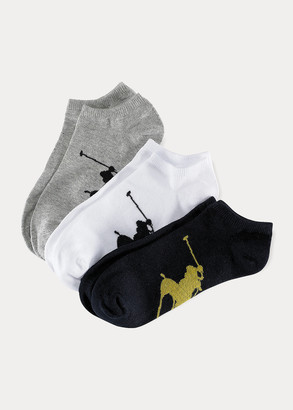 Ralph Lauren Big Pony Sock 3-Pack