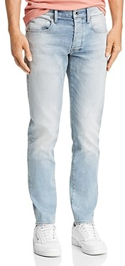 G Star 3301 Slim Fit Jeans in Faded Mineral