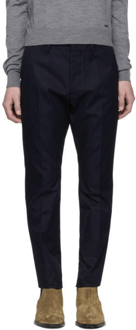DSQUARED2 Blue Hockney Trousers