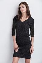 Braedyn Textured Knit 3⁄4 Sleeve Dress