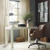 west elm Parsons Desk - White