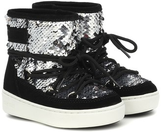 MOON BOOT KIDS Sequined snow boots