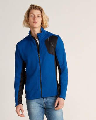 Spyder Raider Waffle Knit Full Zip Jacket