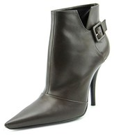 Roger Vivier Ankle Boot J207 Pointed Toe Leather Ankle Boot.