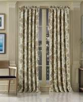 "J Queen New York Vancouver Blackout 50"" x 63"" Rod Pocket Curtain Panel"