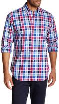 Tailorbyrd Long Sleeve Check Plaid Regular Fit Shirt