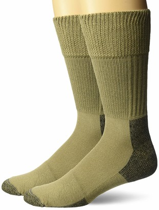 Dr. Scholl's Men's Diabetes and Circulatory Advanced Relief Crew Socks 2 Pair