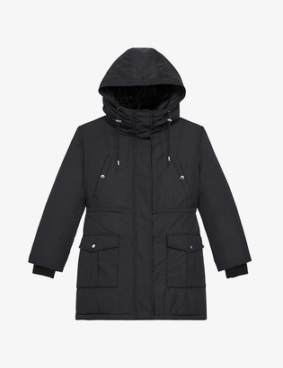 The Kooples Hooded parka jacket