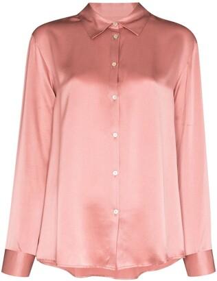 ASCENO London long-sleeve pajama top