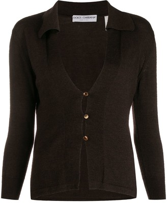 Dolce & Gabbana Pre-Owned 1990's Buttoned Cardigan