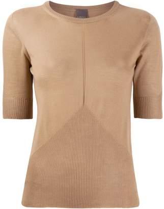 Lorena Antoniazzi short-sleeved knit top