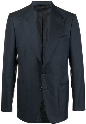 Tom Ford Single-Breasted Tailored Blazer