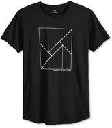 Armani Exchange Men's Linear Abstract Logo T-Shirt