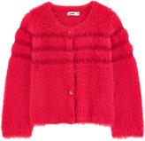 Junior Gaultier Fancy knit cardigan