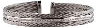 Charriol Alor Diamond Cable Bracelet
