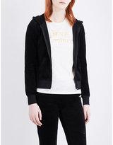 Juicy Couture Paisley Flourish velour hoody