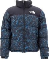The North Face Patterned Zipped Down Jacket