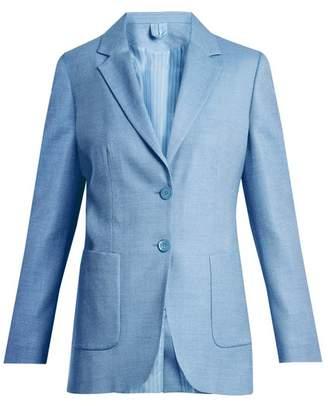 Max Mara Zante Jacket - Womens - Light Blue