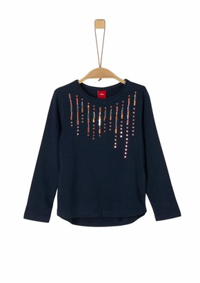 S'Oliver Girl's 53.911.31.7747 Long Sleeve Top